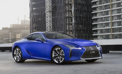 LEXUS LC Limited Edition Reaches New Heights
